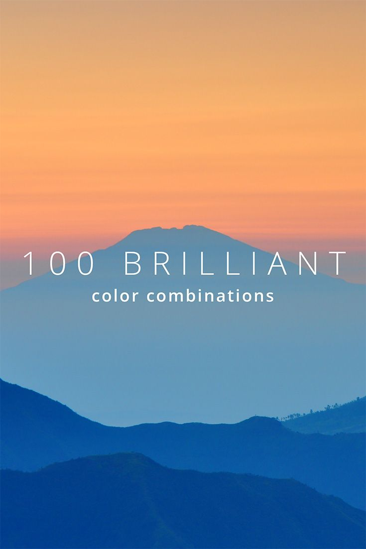 100 Brilliant Color Combinations and How to Apply Them to Your Designs