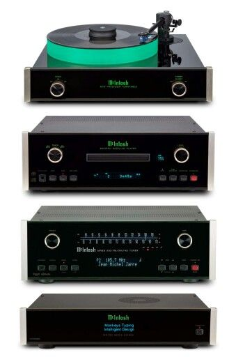 High end audio audiophile McIntosh would love this