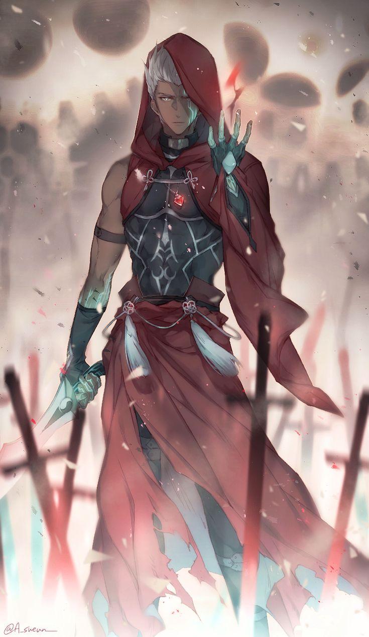 SUEUN🥝 on Twitter Fate stay night anime, Fate archer