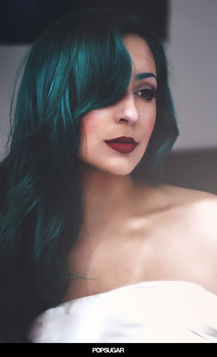 27 Real Girls Prove Anyone Can Rock Rainbow-Bright Hair. Wow if you can pull off Green hair you can pretty much pull off any hair color!