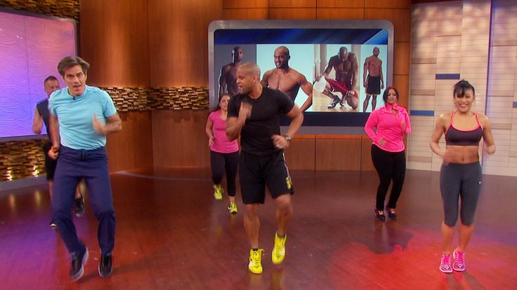 Shaun T's Fat-Blaster Workout: Dr. Oz puts Shaun T's quick new workout to the test! You'll be feeling a total-body burn in just five minutes.