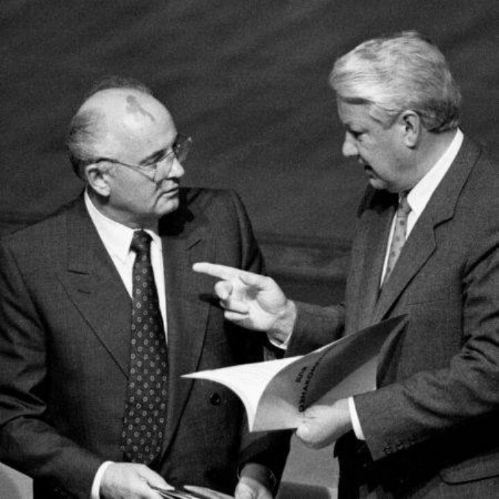 gorbachev and yeltsin relationship test
