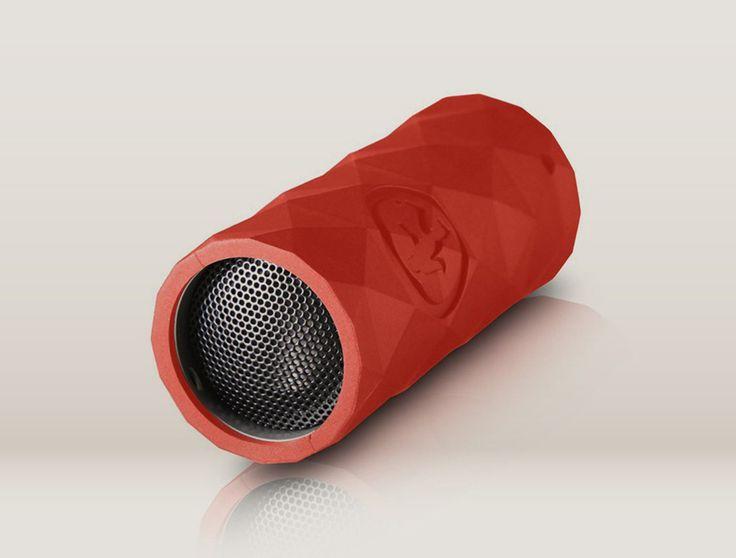 Wireless portable speaker.