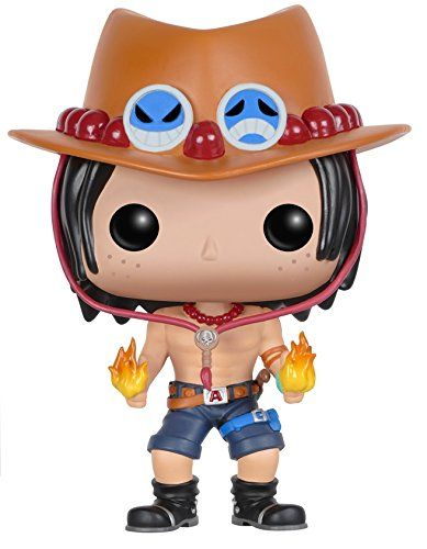 From the hit anime One Piece Portgas D. Ace as a stylized POP vinyl from Funko! Figure stands 3 3/4 inches and comes in a window display box. Check out the other One Piece and anime figures from Fun...
