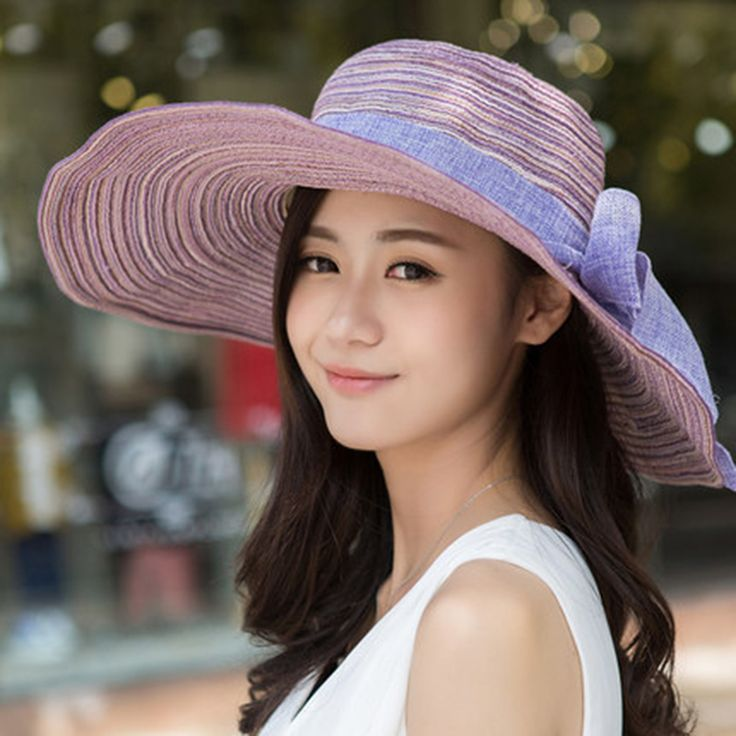 >> Click to Buy << Summer Bow Foppy Straw Hats Women Fashion Colorful Wide Brim Sun Hats Sombrero Beach Caps For Women Big Heads Casual Sun Hat  #Affiliate