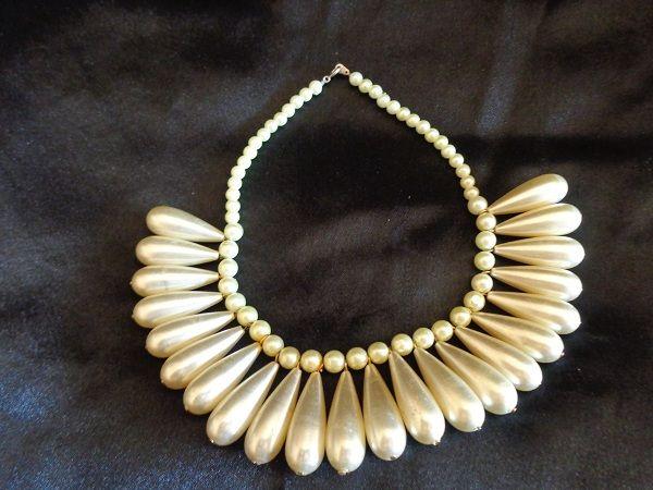 Collier Perles d'Ivoire
