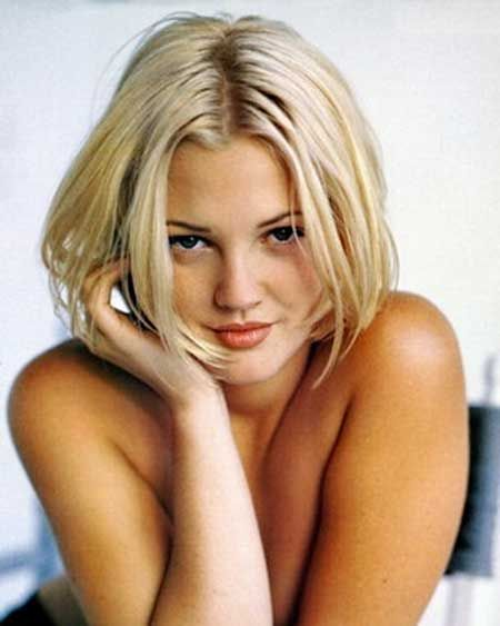 Drew Barrymore Awesome and Enticing Bob Hair