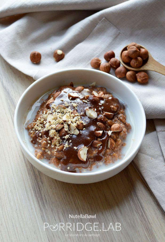 NutellaBøwl – Mon pørridge très gourmand au bon goût de Gianduja