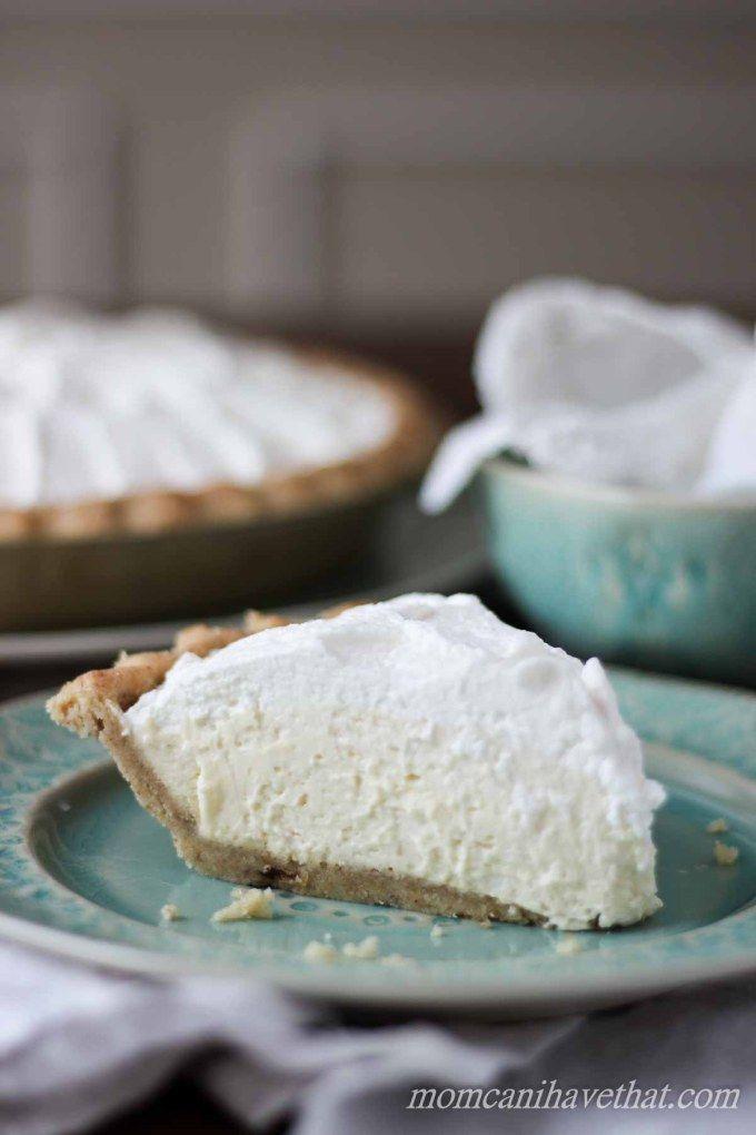 Low Carb Banana Cream Pie | low carb, gluten-free, keto |
