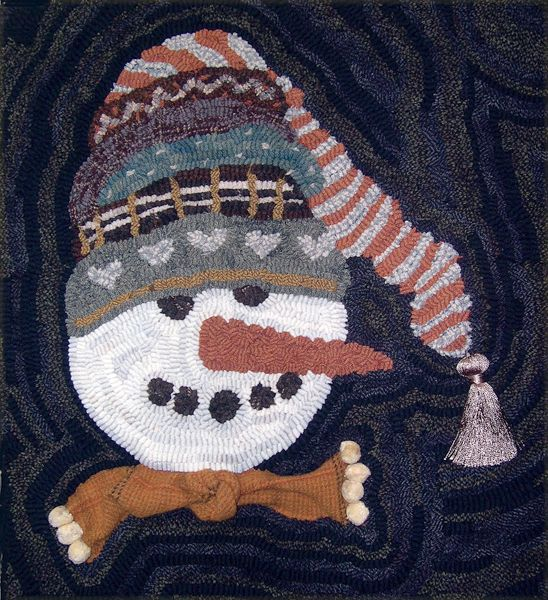 1000+ Images About Hooked Rugs ... Winter Holidays On