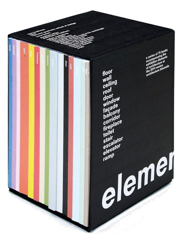 """In """"Elements,"""" an exhibition and accompanying book for the 2014 Venice Architecture Biennale,Rem Koolhaasseeks to e..."""