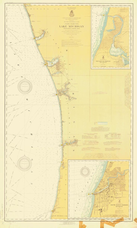 Best Lake Michigan Map Ideas On Pinterest State Of Michigan - Lake michigan map
