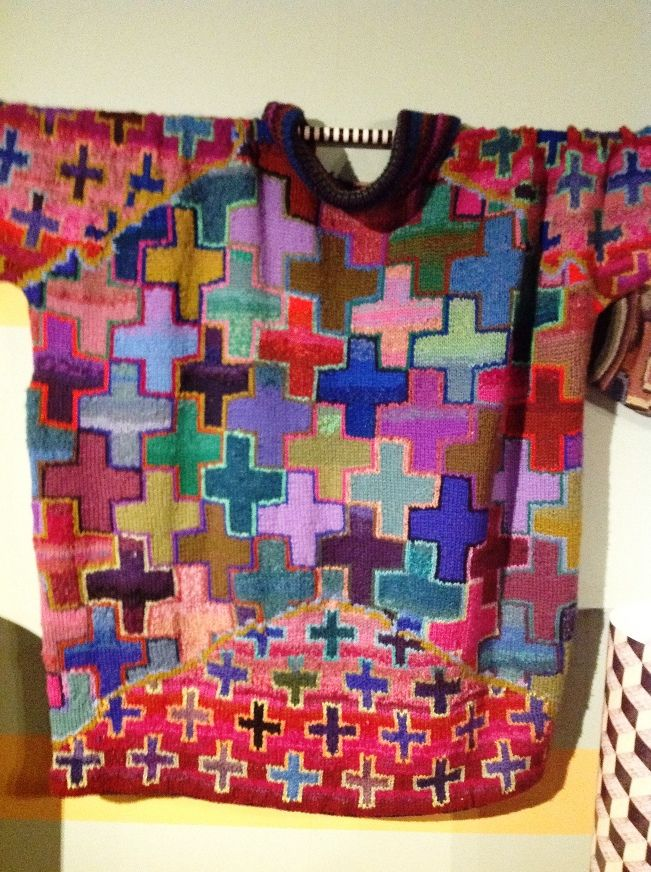 Kaffe Fassett Exhibition at the Design and Textile Museum | Fashion blog | Oxfam GB