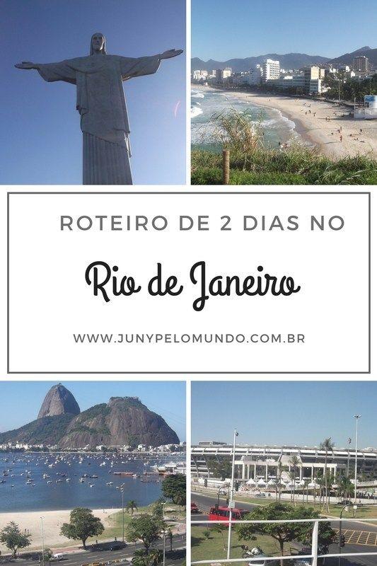 Roteiro de 2 dias no Rio de Janeiro! 48 horas cheias de atrações na cidade maravilhosa!