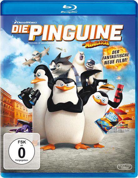 Die Pinguine aus Madagascar - 20th Century Fox - kulturmaterial - Bluray