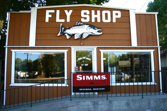 Sierra Trout Magnet Fly Shop in Bishop, CA