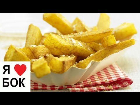 Картофель брусочками в духовке. Хрустящий запеченный картофель