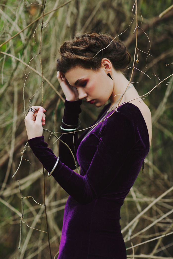 That purple dress right now. And the hair. Actually she kind of reminds me of Florence, @Sierra Abrams