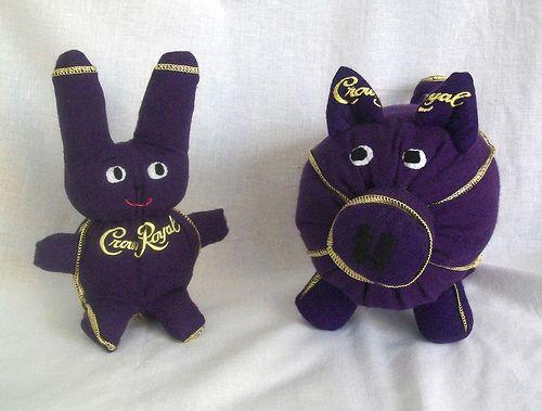crown royal bunny pig