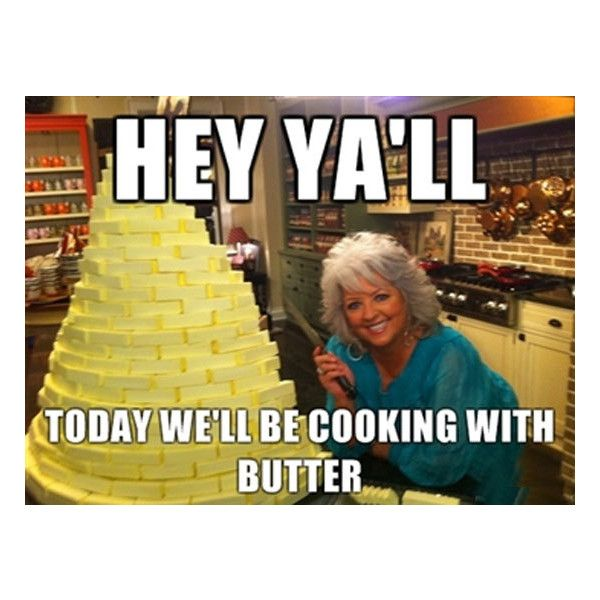 Food Network Humor - Cook with them. Laugh with us. ❤ liked on Polyvore