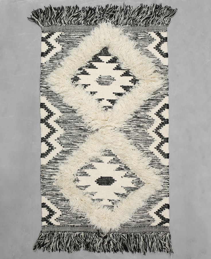 Tapis coton tissé berbère - Le tapis style berbère réchauffe notre intérieur tout en no...