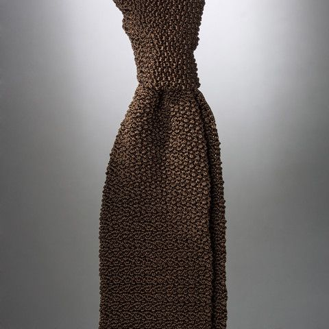 """""""Cri de la Soie"""" Knit Tie by Peacon, handmade in Germany! #knittie #sprezzatura #menstyle #gentleman"""