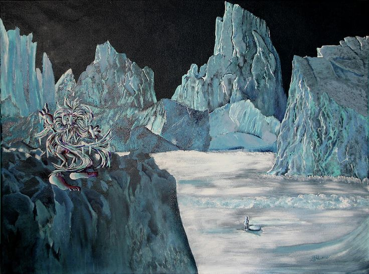 Barbegazi's Glacial Playground by Diana Hume