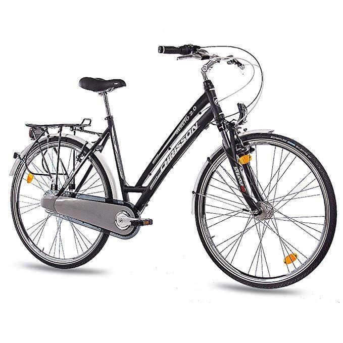 28 Zoll Luxus Alu City Bike Trekkingrad Damenfahrrad Chrisson Sereto 2 0 Mit 3g Shimano Nexus Stvzo Schwarz Matt Amazon De Spo Damenfahrrad Klapprad Fahrrad