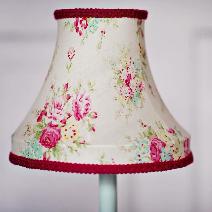 16 best traditional hand stitched lamp shades images on pinterest pretty handmade floral lampshade aloadofball Image collections