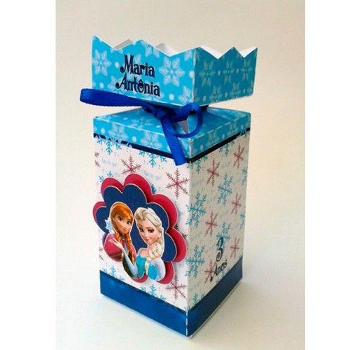 Caja dulce frozen