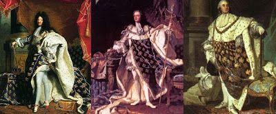 Um estudo sobre o sentar: Luís XIV, XV e XVI