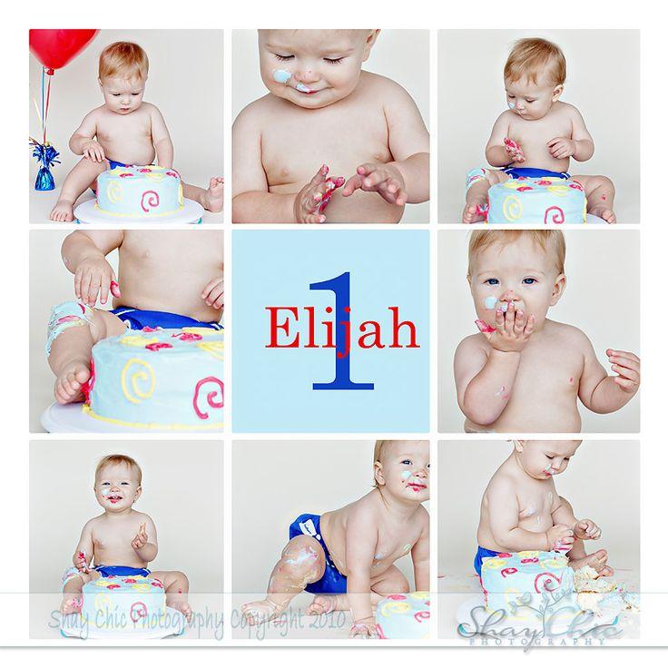 Cake SMASH! | Lincoln, NE Children's Photographer| | Shay Chic Photography
