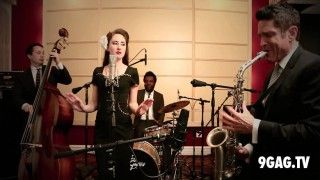 "This ""Careless Whisper"" As A 1930s-Style Jazz Jam Is Truly Awesome - 9GAG.tv"