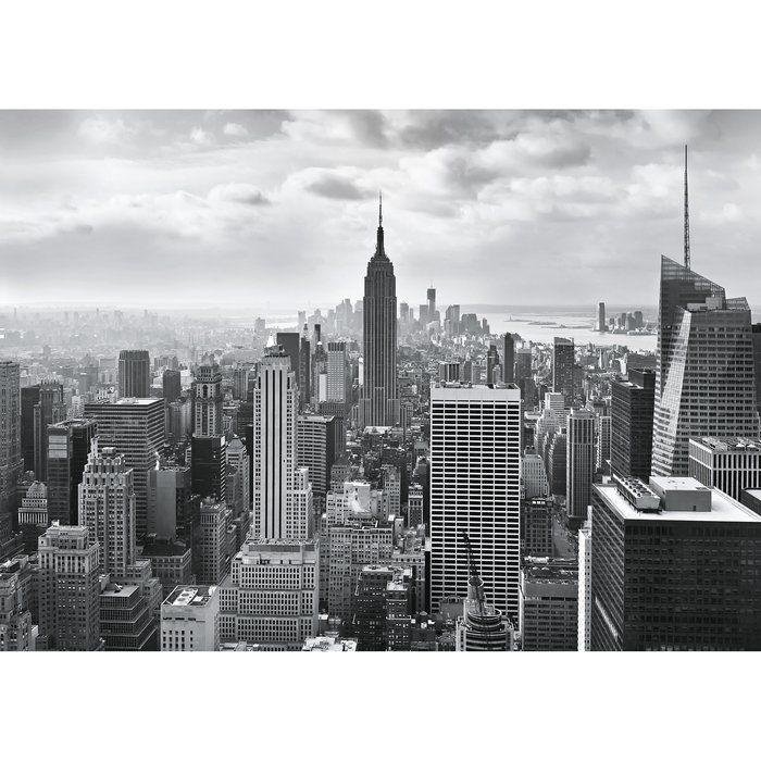 Wall Mural NEW YORK CITY BLACK /& WHITE photo wallpaper 366x254cm wall art
