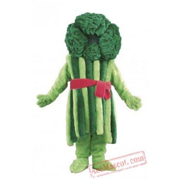 Broccoli Vegetable cartoon mascot costume High quality fancy dress handmade
