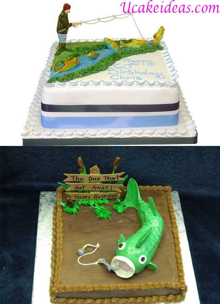 Fishing Birthday Cake Ideas For Men U Cake Ideas Cakes