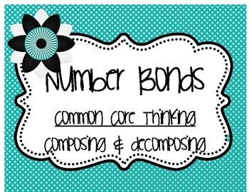 Common Core Number Bonds  www.littlemindsatwork.blogspot.com