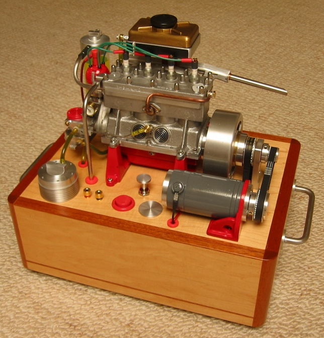 Miniature Engines Scale Models Pinterest Mechanical
