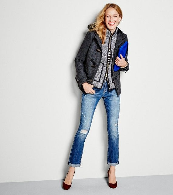 J. Crew Factory Sale -- $30 Off $100 + Free Shipping | Get the #coupon code! thru 10/25/15 MomsWhoSave.com  #deals #fashion #coupons