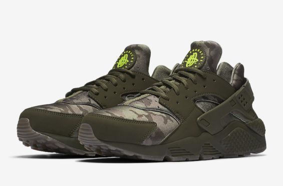 huge selection of c8a55 b4f8c Official Images  Nike Air Huarache Camo Yesterday we shared with you the  official images of