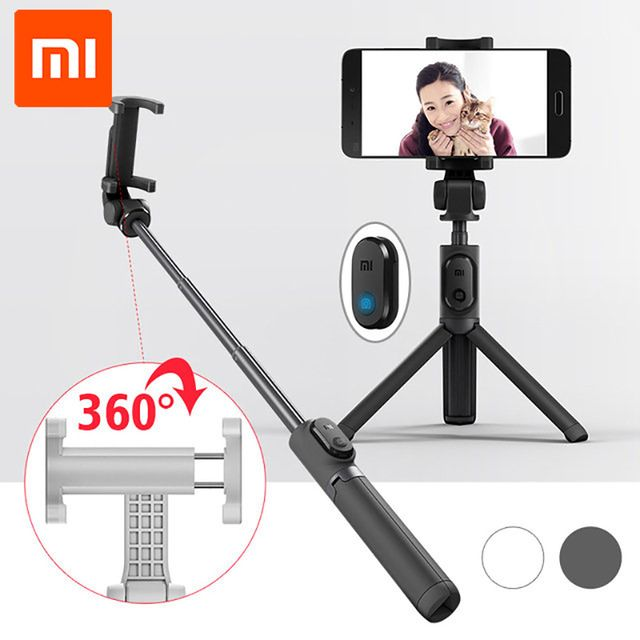 Original Xiaomi Handheld Mini Foldable Tripod 2 in 1 Monopod Selfie Stick Bluetooth Wireless Remote Shutter for Android & Iphone http://ali.pub/219d65
