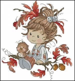 Little Autumn - Детские - Схемы вышивки - Иголка