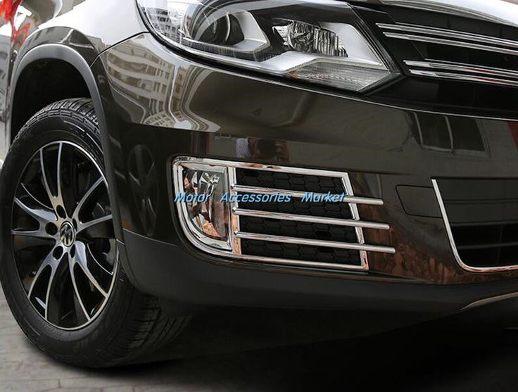 Nice Awesome New Chrome Front Fog Light Cover Trim For VW Tiguan 2013 2014 2015 2017 2018 Check more at https://auto24.ml/blog/awesome-new-chrome-front-fog-light-cover-trim-for-vw-tiguan-2013-2014-2015-2017-2018/