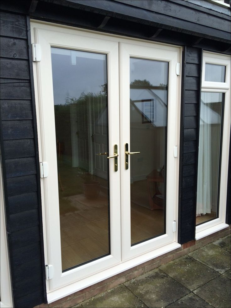1000 ideas about upvc french doors on pinterest garden room extensions upvc windows and for White upvc french doors exterior
