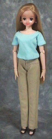 レディス Tシャツ 「パプペポ」着せ替え人形の手作り服の作り方