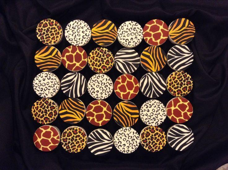 Safari Theme Cupcakes
