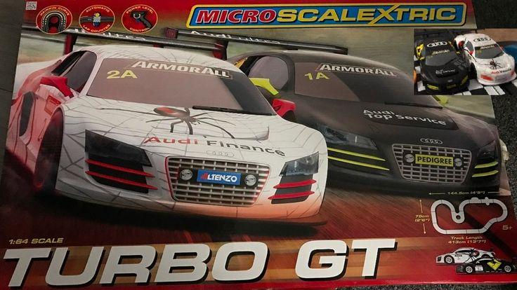 Turbo GT Micro Scalextric Track Setup