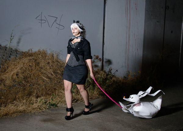 I loved this image of make halloween sally & Some info regarding Female Jack Skellington Costume Ideas