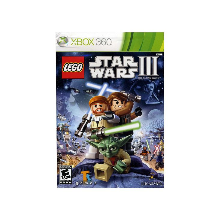 LEGO Star Wars III: The Clone Wars for Xbox 360, Multicolor