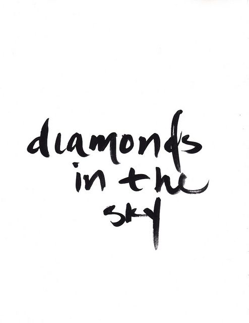 """""""A diamond is a piece of charcoal that handled stress EXCEPTIONALLY WELL""""    --unknown--...SO the sky is the limit...kr"""